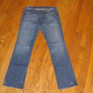 ARMANI EXCHANGE STRAIGHT LEG JEANS 10 LONG